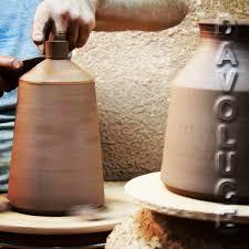 terracotta flame spanish handmade pendant lights clay pendant lights by pott from davoluce lighting
