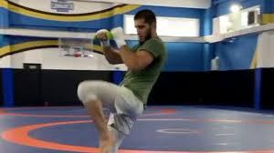 Umar Nurmagomedov training for UFC 254 ...