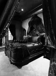id feel like a princess in a dark castle in this room all black furniture