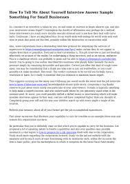 Describe Yourself Sample Essay Describe Yourself Essay For Medical School Need Help With