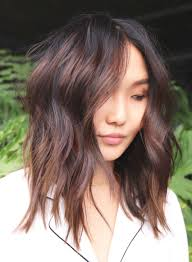 Hairstyles For Round Faces Inspirational Long Shaggy Hairstyles 2018
