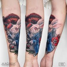 At Magnumtattoostudio Magnum Tattoo тату москва яна улыбка