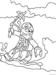lego ninjago coloring pages for kids 2 Coloring4free - Coloring4Free.com
