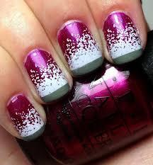 gel nail designs for fall 2014. cute winter nails with snow gel nail designs for fall 2014 e