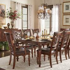 furniture kitchen dining room sets emma catherine cherry extending dining set by inspire q clic