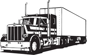 Truck Lineart Vectorfree Download Free Vector