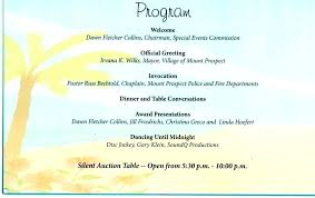 Template For A Program For An Event Event Program Examples Layout Banquet Agenda Template Business