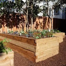 4 x6 cedar raised garden bed kit