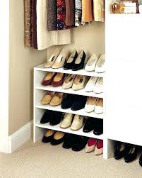 closet shoe rack ideas shoe storage ideas closet image of closet shoe organizer picture closet shoe