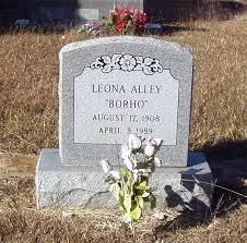 Leona Alley Borho (1908-1989) - Find A Grave Memorial