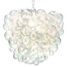 oly studio nimbus modern classic clear resin bubble chandelier