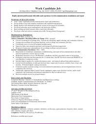 Best Of Resume Example 38 Electrician Objective Carpenter Navy ...