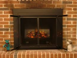 do electric fireplace inserts give off heat