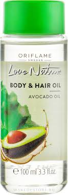 Oriflame <b>Body</b> & Hair Avocado Oil - <b>Масло для тела</b> и волос ...