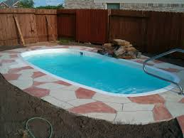 Outdoor Spas U0026 Small Pools  Atlanta Home ImprovementSwimming Pool In Small Backyard