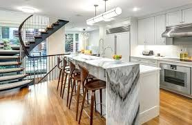 kitchen island designs. Waterfall Kitchen Island Beautiful Islands Designs Ikea