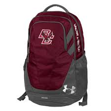 under armour eagles. under armour maroon boston college eagles hustle 3.0 performance backpack