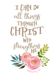 Image result for do all things through god strengthens me