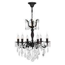 worldwide lighting versailles 23 in 6 light flemish brass crystal candle chandelier