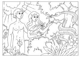 Small Picture adam and eve coloring pages IMG 188324 Gianfredanet
