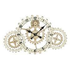 expressions metal gear wall clock
