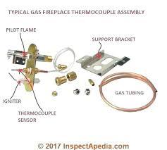 fireplace thermopile gas fireplace gas fireplace gas fireplace vs fireplace thermopile