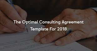 The Optimal Consulting Agreement Template For 2018
