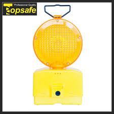 Yellow Light Pc Hot Item Yellow Pc Lens 6v Battery Led Flare Traffic Warning Light