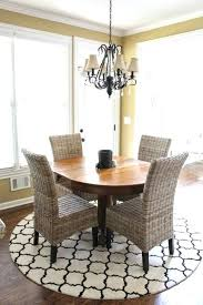 kitchen table rugs. Small Rug Under Kitchen Table Round Rugs Impressive Coffee Tables Dining