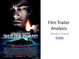 film trailer analysis shutter island