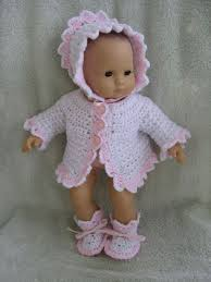 Free Crochet Doll Clothes Patterns