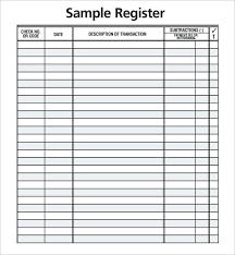 Order Check Registers Checkbook Register Template Buy Ledger Order Registers Hetero Co