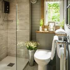Rustic bathroom design Unique Inspiration For Small Rustic Master Gray Tile And Ceramic Tile Light Wood Floor And Gray Houzz 75 Most Popular Small Rustic Bathroom Design Ideas For 2019