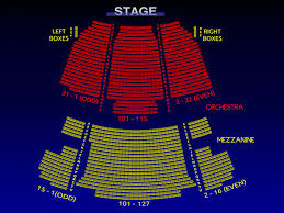 Broadway Seating Charts Neil Simon Theatre Seating Chart