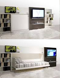 Space Saving Entertainment System. Furniture: Furniture For Small Rooms -  Multi Purpose Furniture