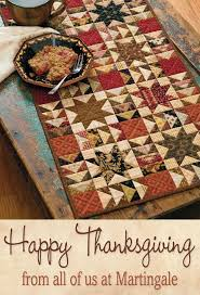 """Best 25+ Thanksgiving table runner ideas on Pinterest ... & Quilt featured: """"Rhubarb Crisp"""" by Jo Morton, from Skinny Quilts and Table Adamdwight.com"""