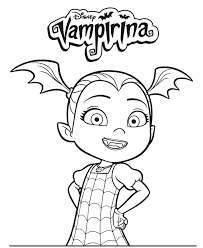 You can print or download them to color and offer them to your family and friends. Free Printable Vampirina Coloring Pages 10 Pages Disney Coloring Pages Halloween Coloring Halloween Coloring Pages