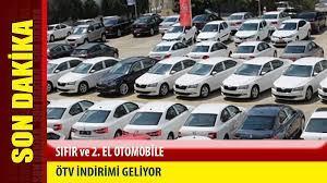 Otomobil Sahibi Olmak İsteyenlere ve Aracını Yenileyeceklere Güzel Haber!  Sıfır ve İkinci Elde ÖTV İndirimi Sinyali