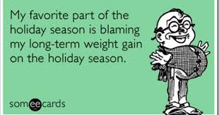 Favorite part of the holiday season. | Weight Loss Humor | Pinterest