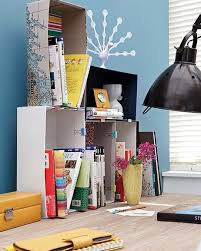 office diy ideas. Exellent Diy DIY Home Office Organization Desk Boxes Binder Clips Books For Office Diy Ideas