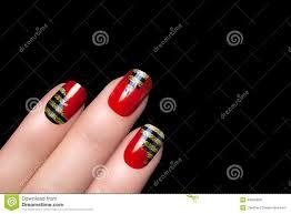 Bee. Nail Art. Stickers Animal Print Stock Photo - Image: 44605828