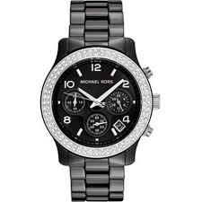 michael kors unisex chronograph black ceramic watch mk5190 michael kors watches unisex chronograph black ceramic watch mk5190