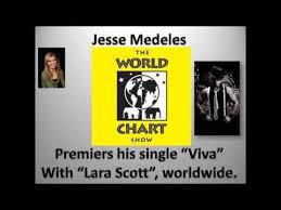 Jesse Medeles On The World Chart Show With Lara Scott