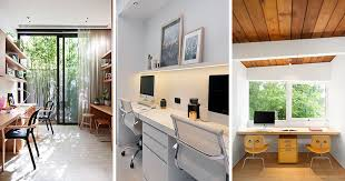 office building design ideas. Modren Ideas 50 Home Office Space Design Ideas For Two People And Building