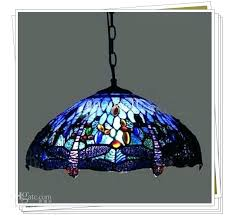 tiffany style light fixtures ceiling dragonfly stained glass pendant living room dining chandelier kitchen hanging lights