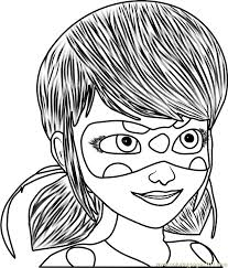 Small Picture Miraculous Ladybug Coloring Page Free Miraculous Ladybug