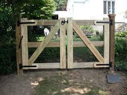 double fence gate. Backyard Fence Gates Ideas Double Gate Garden Bowls Planters
