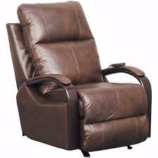 gianni italian leather power recliner