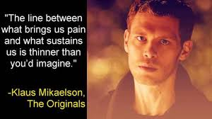 Klaus Mikaelson Quotes Google претрага On We Heart It Amazing Klaus Mikaelson Quotes