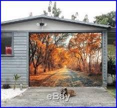 garage door murals3D Falling leaves Garage Door Murals Wall Print Decal Wall Deco AJ